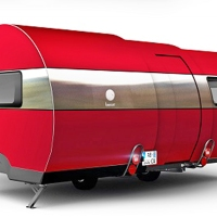 Amazing Pop Out Caravan
