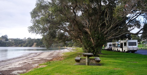 Motorhomers enjoying the Southernmost park