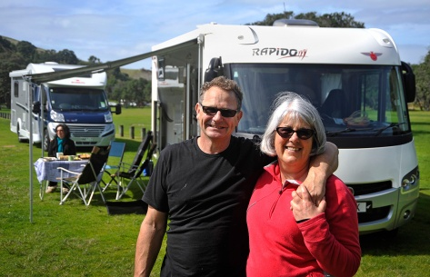 Mike & Wendy with their Rapido