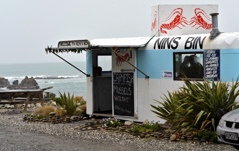Nins bins north of Kaikoura