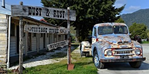 An old Austin truck