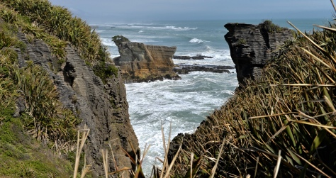Great outlook from Punakaiki