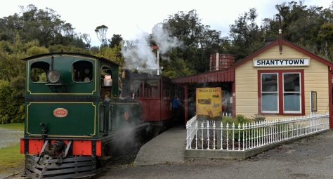 The Shantytown train and station