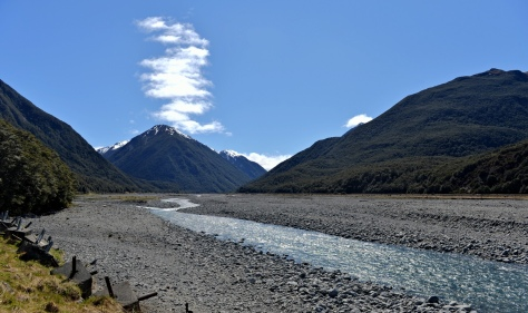 At Klondyke in the Arthur's Pass National Park