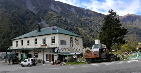 The old pub at Otira