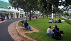 The town centre at Whangarei
