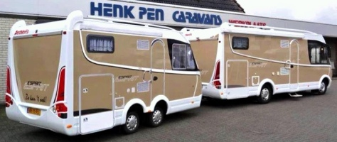 Dethleffs Caravan and Esprit Motorhome