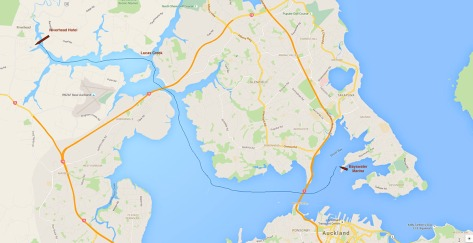 Where we went.. From Bayswater to Riverhead and back.
