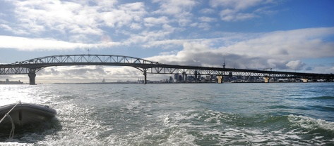 On the way to Riverhead - Auckland harbour Bridge
