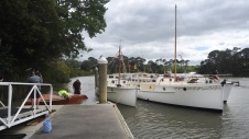 At the wharf