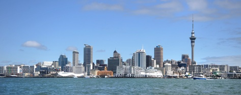 Auckland City when we were nearly back. The cloud has gone
