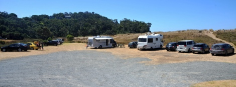 Woolleys bay carpark