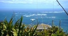 The Maunkau bar over the signal station