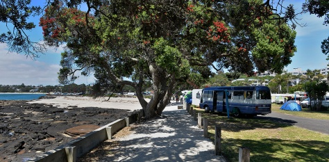 Takapuna Beach Campground