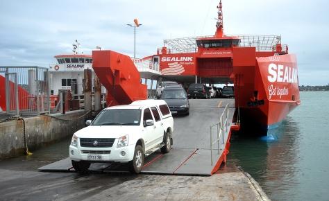 Ferry Unloading