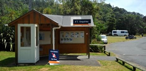 The info centre at Sullivan's