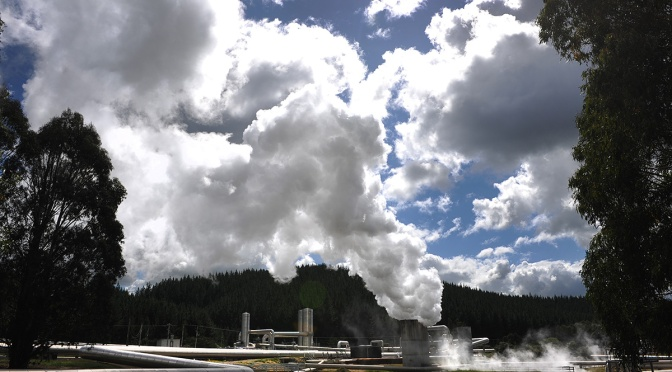 Wairakei Steam
