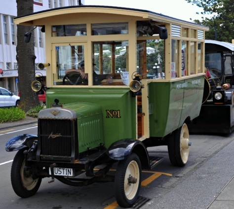 The 1918 Austin Bus that we came home in