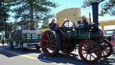 The traction engine giving people rides