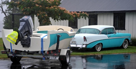 The 56 Chev with Miss BelAir