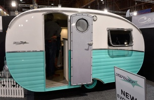 New retro caravans