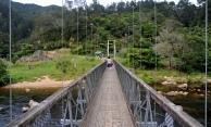 The first swing bridge