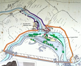 The overall map on the site