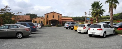 Ascension Cellar entrance and carpark