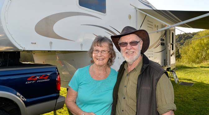 Cyril and Gail's Outback Trail