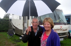Alan and Lyn have been fulltiming in their bus for 4 years.