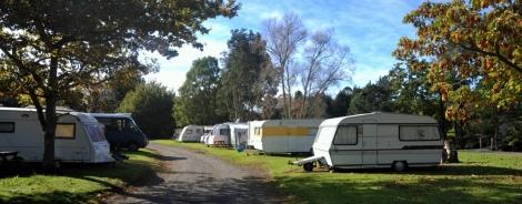 Caravans at sapphire Springs