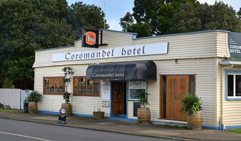 The Coromandel Pub, you can also stay behind this for $10 including power