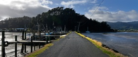 The Causeway to the wharf