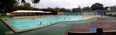 The cooler outdoor pool