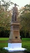 A chap on a plinth