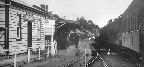 The Railway Station in 1910