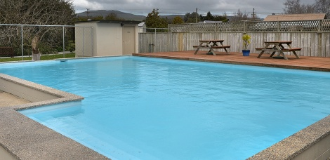 The Pool but not pool weather