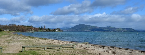 Holdens bay towards Rotorua