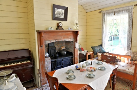 Inside Okato Cottage