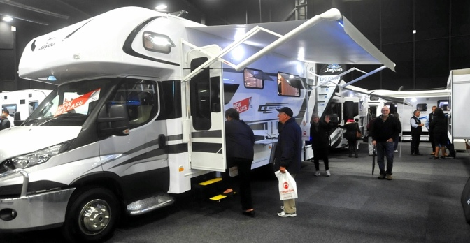 Campercare Motorhome Show 2016