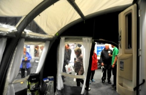 Inside the Kampa Awning