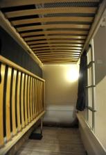 Dethleffs Cgo Garage with the bunks.
