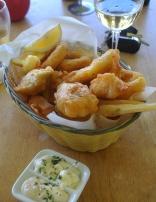 The Seafood basket.. Yum
