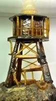Bean Rock Lighthouse made of Gum