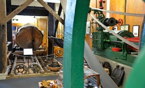 A full steam sawmill setup