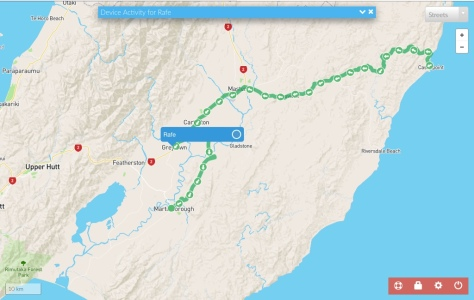 Castlepoint to Martinborough