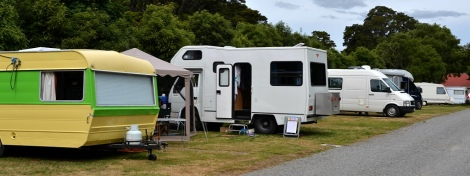 The Motorhome area