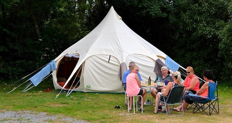 One of the more unusual tents