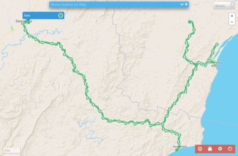 Rafe's Track to Dannevirke