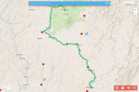 Rafe's Track to Whakapapa Holiday Park